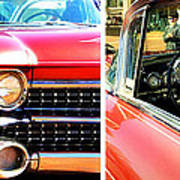 Classic Caddy Inside And Out Art Print