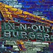 Classic Cali Burger 2.2 Art Print