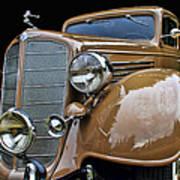 Classic Car - 1935 Buick Victoria Art Print