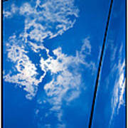 Classic Car Blue - 09.20.08_330 Art Print