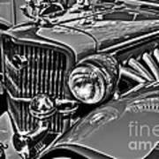 Classic Car Detail Art Print