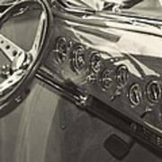 Classic Car Interior Art Print