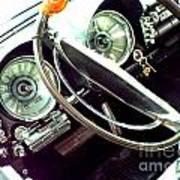 Classic Car Odometer Art Print