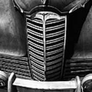Classic Car Packard Grill Art Print