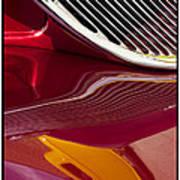 Classic Car Red - 09.19.09_354 Art Print
