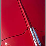 Classic Car Red - 09.20.08_456 Art Print
