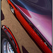 Classic Car Reflection - 09.20.08_155 Art Print