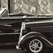 Classic Car Show Art Print
