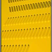 Classic Car Yellow - 09.20.08_468 Art Print