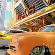 Classic Car's Of Las Vegas Art Print