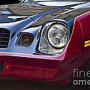 Classic Chevrolet Camaro Art Print