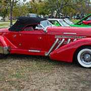 Auburn 1936 Roadster Classic Elegance Art Print