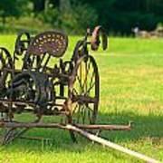 Classic Farm Equipment Art Print
