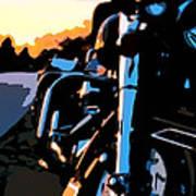 Classic Harley Art Print
