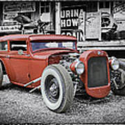 Classic Hot Rod Art Print