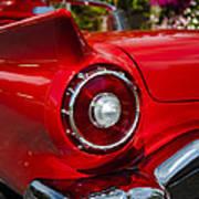 1957 Ford Thunderbird Classic Car  Art Print