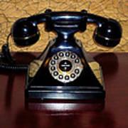 Classic Rotary Dial Telephone Art Print