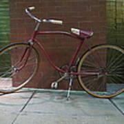 Classic Schwinn Bike  Art Print