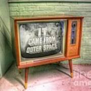Classic Tv Art Print