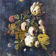 Classical Bouquet - S0104t Art Print