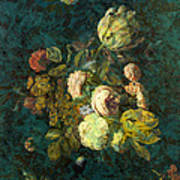 Classical Bouquet - S04bt01 Art Print by Variance Collections