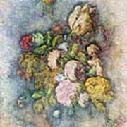 Classical Bouquet - V01c Art Print