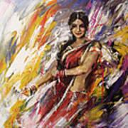 Classical Dance Art 14 Art Print