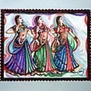 Classical Dance1 Art Print