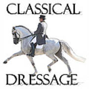 Classical Dressage Art Print