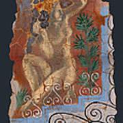 Classical Wall Fragment Art Print