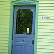 Classy Farmhouse Door Art Print