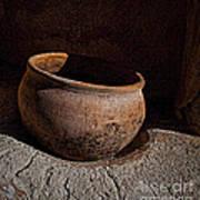 Clay Pot  ... Art Print