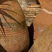 Clay Pots   #7806 Art Print