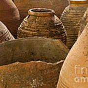 Clay Pots   #7811 Art Print