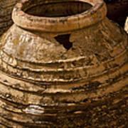 Clay Pots   #7816 Art Print