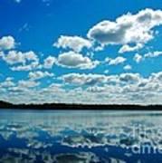 Clear Blue Waters  Art Print