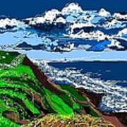 Clear Coast Art Print