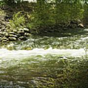 Clear Creek In Colorado Art Print