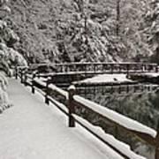 Clear Creek Winter Art Print