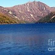 Clear Water Lake Art Print