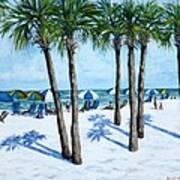 Clearwater Beach Morning Art Print