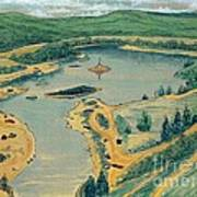 Clearwater Lake Early Days Art Print