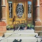Clementines Door Art Print
