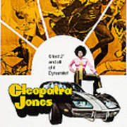 Cleopatra Jones, Poster Art, Tamara Art Print