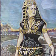 Cleopatra The Last Pharoah Of Egypt Art Print