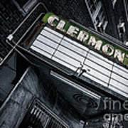 Clermont Hotel Art Print