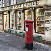 Clevedon West End Post Office Art Print