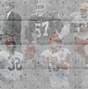 Cleveland Browns Legends Art Print