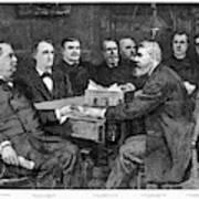 Cleveland Cabinet, 1893 Art Print