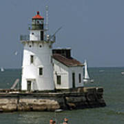Cleveland Lighthouse Art Print